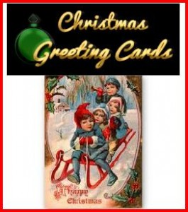retro xmas cards pic 265x300 Retro Christmas Shopping Village