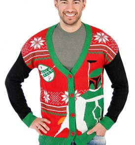 cardigan christmas ugly sweater vest